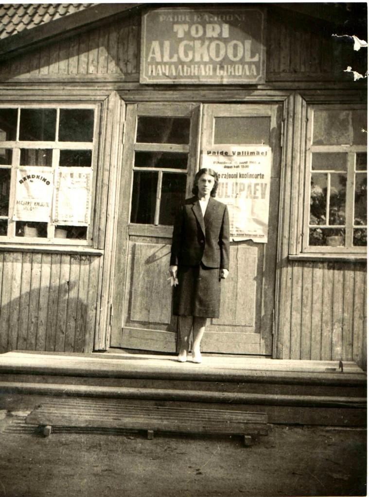 Tori Algkooli kauaaegne juhataja Agnes Kaljula